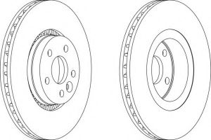 Auto Parts Disc Brake Rotor for Ford/Landrover/Volvo pictures & photos