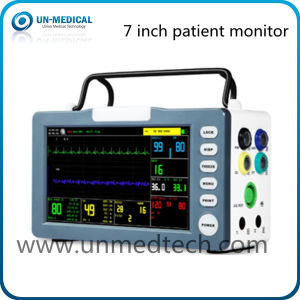 New-Portable Six Parameters Patient Monitor with Touch Screen pictures & photos