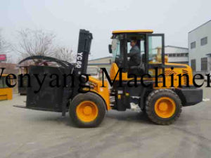 6ton Four Wheel Driving Rough Terrain Forklift pictures & photos