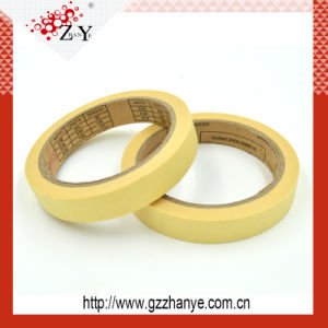 120 Degree High Temperature Masking Tape for Car Painting pictures & photos