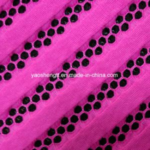 100% Polyester Apparel Mesh Fabric pictures & photos
