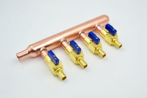 Pex Pipe with Ball Valve -Manifold pictures & photos