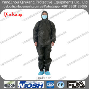 Cleanroom Non Woven SMS Isolation Protective Coverall pictures & photos