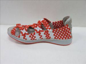 Man Women Colourful Woven Shoes pictures & photos