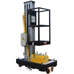 10m Mobile Hydraulic Lift Mast Access Work Platform pictures & photos