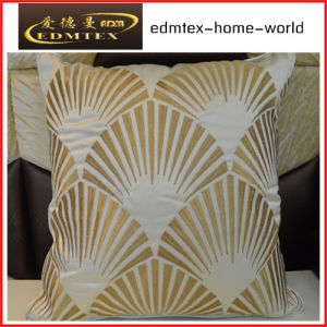 Embroidery Decorative Cushion Fashion Velvet Pillow (EDM0313)