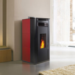 Red with Black High Heating Stove pictures & photos