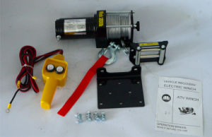 4WD Power Winch with Roller Fairlead and More (3000lb-1) pictures & photos