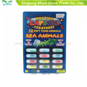 Magic Growing Sea Animal Capsules Toys Expanding Sponge Foam Capsule pictures & photos