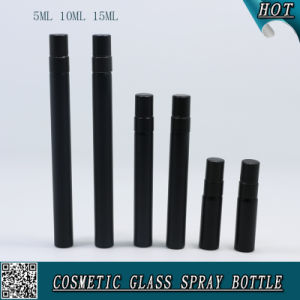 5ml 10ml 15ml Perfume Bottle Matte Black Colored Glass Spray Bottle Glass Vial pictures & photos