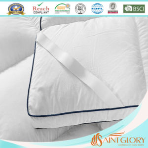 Wholesale Anti Allergy Duck or Goose Feather Down Pad pictures & photos