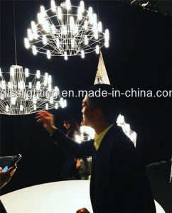 High Quality Acrylic White LED Chandelier for Dining Room pictures & photos