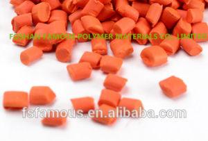 PE, PP, ABS, Pet Color Masterbatch Orange Plastics Engineering Pipe Masterbatch Food Grade pictures & photos