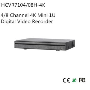 4/8 Channel 4k Mini 1u Digital Video Recorder (HCVR7104/08H-4K) pictures & photos