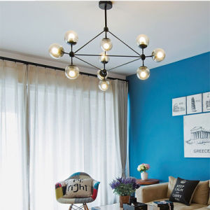 Modern Living Room Chandelier Store Ball Magic Bean Pendant Lamp pictures & photos