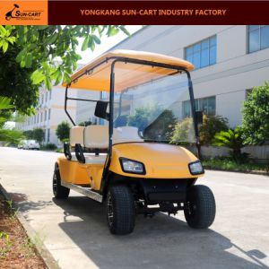 4 Seater Ce Certification Electric Golf Cart pictures & photos