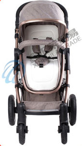 En1888 Approved High-View Big and Comfortable Baby Stroller pictures & photos
