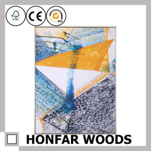 Colorful Home Decoration Abstract Art Painting in Wood Frame pictures & photos