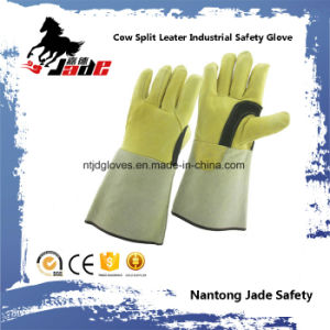 Genuine Cowhide Leather Industrial Safety Welding Work Glove pictures & photos