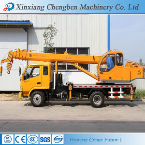 Golden Manufacture China Used Hydraulic Boom Mobile Truck with Crane 10 Ton for Sale pictures & photos