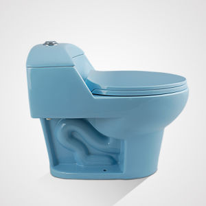 Cheap Price Porcelain Siphonic One Piece Toilet with High Quality pictures & photos