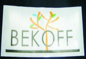 Custom Printed Die Cut Adhesive Brand Name Sticker Manufacturer