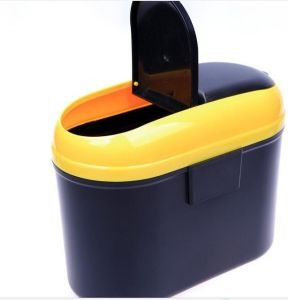 Excellent Quality Simple and Hanging Plastic Dust Bin for Car pictures & photos