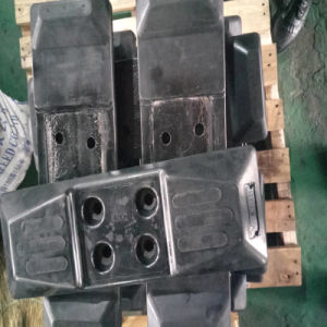 Chain Type Rubber Track Pads for Excavator pictures & photos