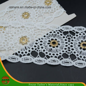 100% Cotton High Quality Embroidery Lace (HSS-1706) pictures & photos