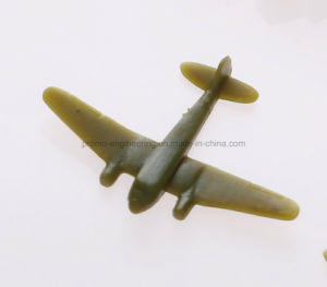 3D Figurine Plastic Toy Airplane