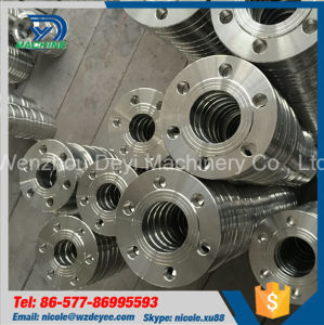 Sanitary Stainless Steel Plate Flange (DY-F044) pictures & photos