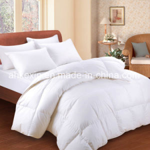 600tc Down Proof Fabric and 75% White Duck Down Thermal Comforter pictures & photos