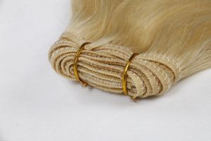 Cheap Price Quality Human Hair Weaving Silky Straight Weave 18inches Color 6 (HH-186) pictures & photos