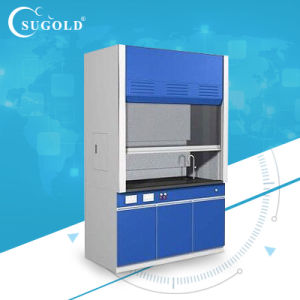 PP Corrosion Resistant Work Top Fume Hood with Gas Value pictures & photos