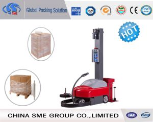 Automatic Robotic Mobile Pallet Wrapper pictures & photos