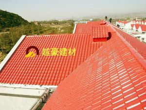 Building Materials ASA Synthetic Resin Roof Tile Plastic PVC Roof Sound Proof Roof Tile pictures & photos