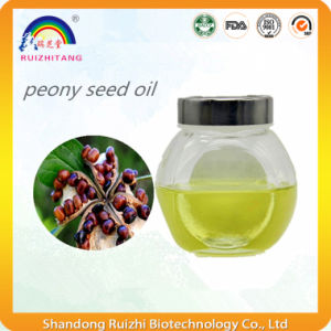 Natural Peony Seed Oil From Herbal Extract pictures & photos
