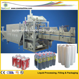Film Shrink Wrapping Machine / Shrink Packing Machine for Water Bottle pictures & photos
