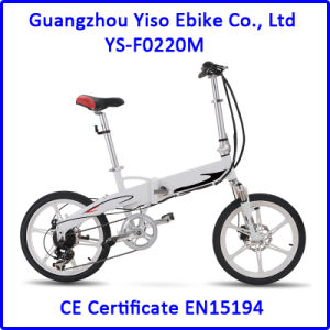 Power Assisted Electric Folding Bicycle pictures & photos