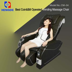 Coin & Bill Operated Vending Massage Chair / Massage Chair / Virbration Massager pictures & photos
