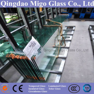 12mm Clear Tempered Door Glass (Polish Edge) pictures & photos