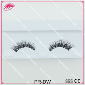 New Designed Wispy Style Human Hair Eyelash Dw False Eyelashes Wholesale pictures & photos