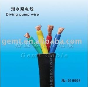 10mm Submarine Cable Rubber PVC Insulation pictures & photos