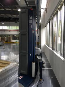 Ce Approved Automatic Pallet Wrapping Machine - Siemens Designated Wrapper pictures & photos