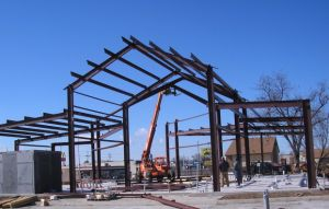 Prefabricated Cheap Steel Structure Warehouse Building pictures & photos