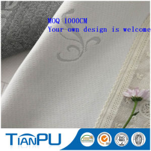 OEM Aloe Vera Skin Care Knitted Jacquard Mattress Ticking fabric pictures & photos