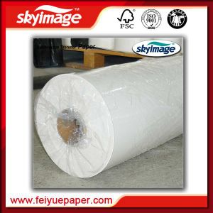 Newly 57GSM Anti-Curl Fast Dry 2.3m (94inch) Sublimation Transfer Paper Jumbo Roll pictures & photos
