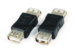 USB2.0 Male to Female Adapter pictures & photos