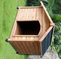 Wooden Waterproof Pet House/Dog Kennel pictures & photos