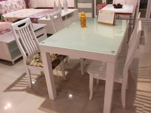 Printing Tempered Glass for Tabletop Furniture pictures & photos
